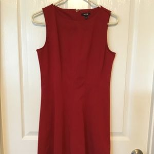 Apartment 9 Red Sleeveless Dress